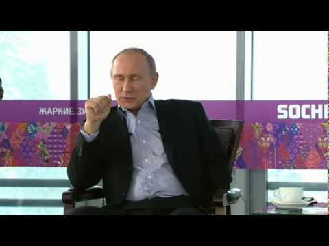 Winter Olympics: Putin cautions gay visitors to Sochi