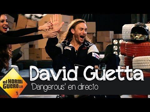 El Hormiguero 3.0 recrea el videoclip de 'Dangerous' de David Guetta