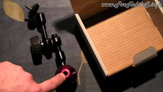 Unboxing di Manfrotto 814-1 Mini Hydrostat Arm - esclusiva mondiale !