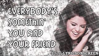 Watch Selena Gomez  The Scene Spotlight video