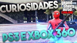 CURIOSIDADES DO GTA ONLINE NO PS3 E XBOX 360 EM SEU LANÇAMENTO