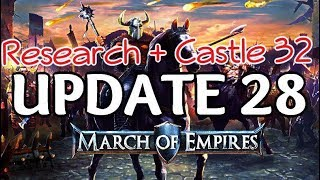 MARCH OF EMPIRES   CASTLE 32 + NEW RESEARCH  R94   Hydra™