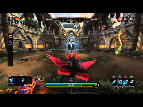 SMITE PS4 Closed Alpha KUKULKAN Gameplay
