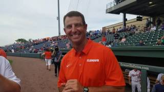 TigerNet.com - Coaches talk first pitch