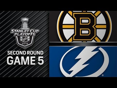 Boston Bruins vs Tampa Bay Lightning – May. 06, 2018 | Game 5 | Stanley Cup 2018 . Обзор