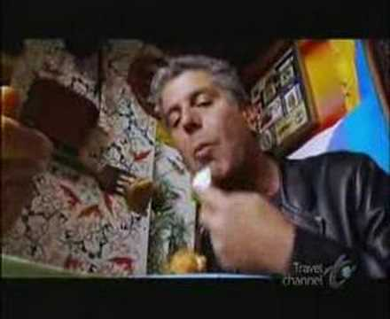Anthony Bourdain and Andrew Zimmern at Kabab Cafe, Astoria, Queens Music Videos