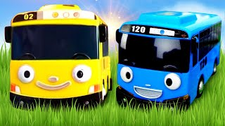Tayo The Little Bus Toys. 타요 도로놀이 장난감 Racetrack. Kids Toy Cars and Buses