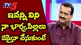 Bandla Ganesh Gets Emotional With TV5 Murthy In Live Debate