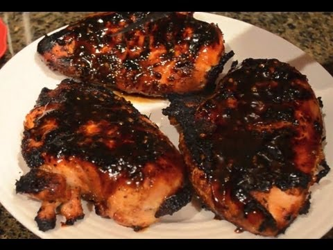 Fuzzy&#8217;s Kitchen &#8211; Orange Teriyaki Glazed Chicken Breast