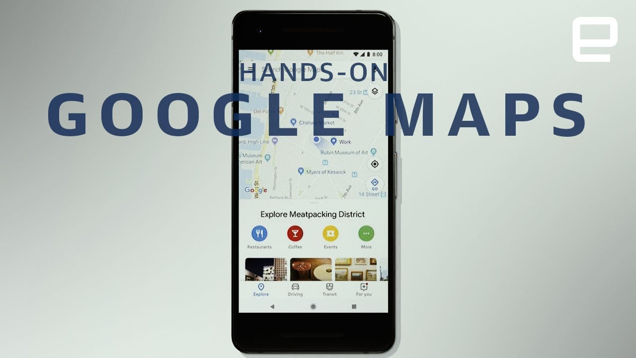 Google Maps 2018 Hands-On