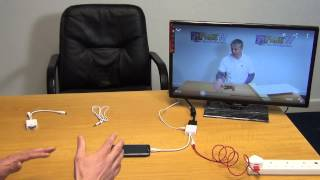 11 Pin Micro USB MHL to VGA Converter Cable