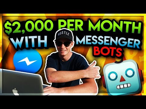 EXTRA $2,000 a Month with MESSENGER BOTS with AFFILIATE MARKETING