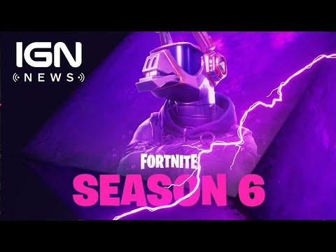 First Fortnite Season 6 Teaser Features DJ Llama - IGN News