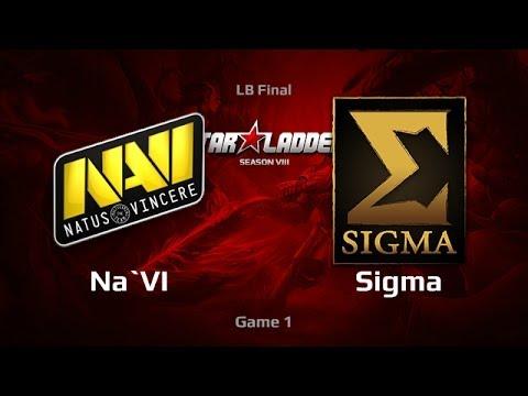 Na'Vi vs Sigma, SLTV S8 LAN Finals, LB Final, Game 1