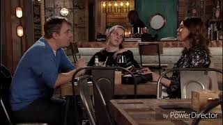 Coronation Street Tyler Is Working In The Bistro And Tracy Is Not Happy 15th February 2019