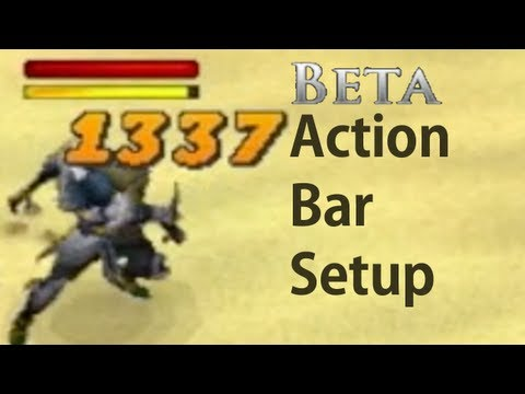Beginners Action Bar Setup for Runescape Combat Beta  Beginners Guide Recommended Action Bar Setup