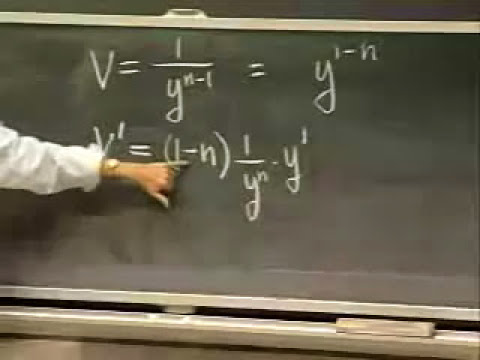Lec 4 | MIT 18.03 Differential Equations, Spring 2006