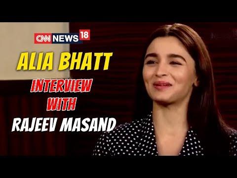 Alia Bhatt Interview (Raazi) with Rajeev Masand | CNN News18 Exclusive thumbnail