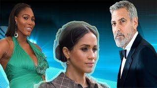 George Clooney and SERENA WILLIAMS announced they would protect Meghan Markle to the end