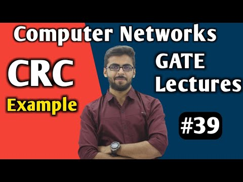 Cyclic Redundancy Check Example Computer Networks Lectures | Computer Networks GATE