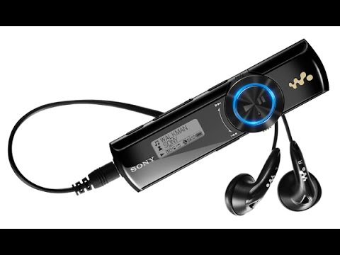 Sony Walkman MP3 4GB (NWZ-B173F). Desempaquetado (Unboxing)