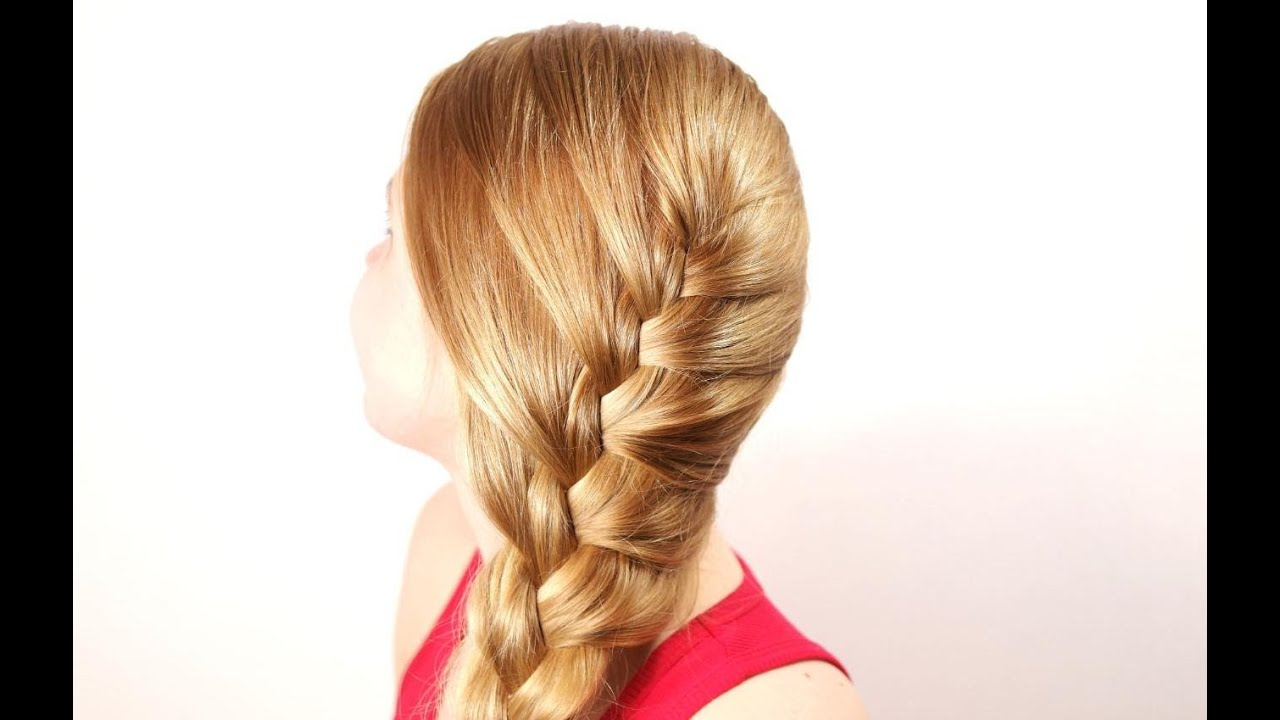Braided hairstyle for everyday. Hairstyles for long hair ...