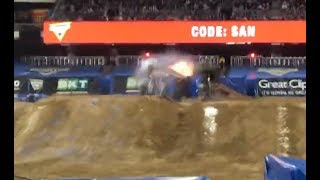 Monster Jam San Diego 2019 Son-Uva Digger (WINNING)  Freestyle 01/19/19