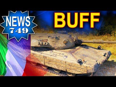 Włosi za słabi - BUFF - World of Tanks NEWS