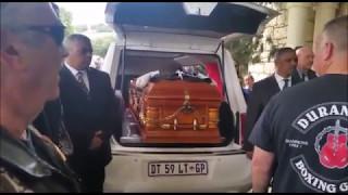 Nick Durandt laid to rest