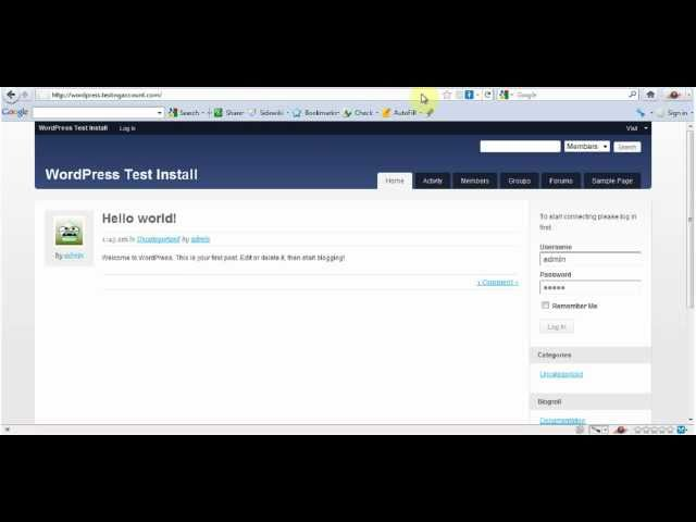 backup & restore wordpress website tutorial video