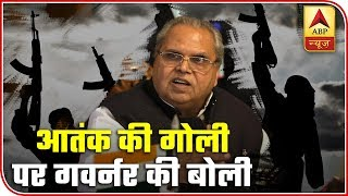 J&K Governor Retracts, Says Comment Was Made In Fit Of Anger | ABP News