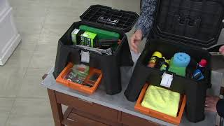 "Worx 13"" Step Stool & Tool Box Combo on QVC"