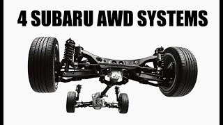 How Every Single Modern Subaru AWD System Works