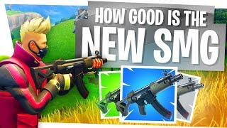 How GOOD is the NEW SMG?! - Fortnite Season 5 Updates - Tac SMG Vaulted!