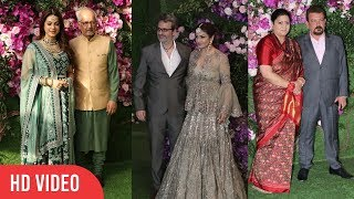 Real Life Couples at Akash Ambani - Shloka Mehta Wedding | Juhi Chawla, Raveena Tandon, Smriti Irani