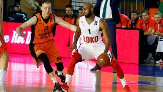Highlights Montakit Fuenlabrada vs Lokomotiv Kuban 25.01.2017 Eurocup 7DAYS
