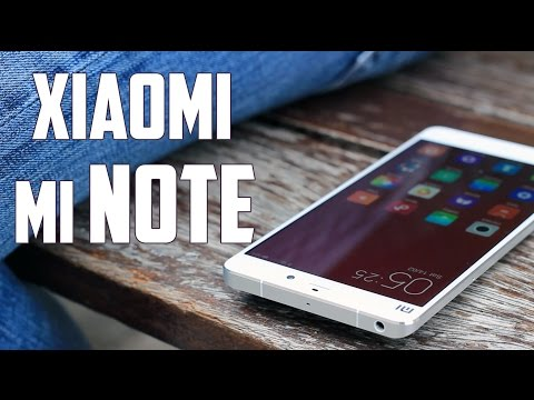 Xiaomi Mi Note, Review en espa�ol