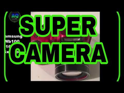 Camara  samsung wb100 16mp zoom 26x review en español
