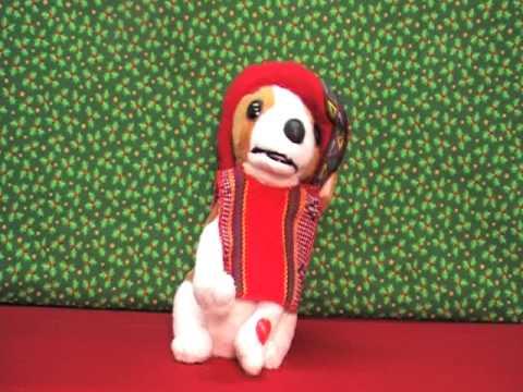 singing puppy Donde esta Santa Claus