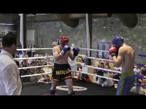 CTO del Mundo Kickboxing 2012 (Tesalónica)   Miguel Ángel López Final Lowkick