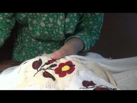 Как распороть вышивку машинную