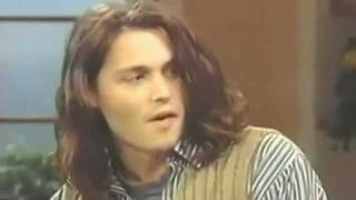 Johnny Depp's Reaction When Told He's Shy