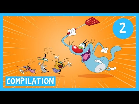 Oggy And The Cockroaches Compilation #2 - Full Episodes In Hd   January video