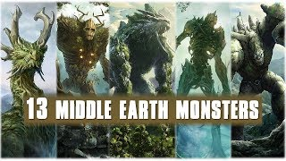 13 Biggest Middle Earth Monsters| Explained