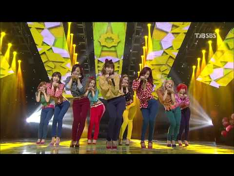 130106 Dancing Queen + I Got A Boy - Snsd  Sbs Inkigayo video