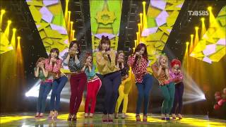 130106 Dancing Queen + I Got A Boy - SNSD @ SBS Inkigayo