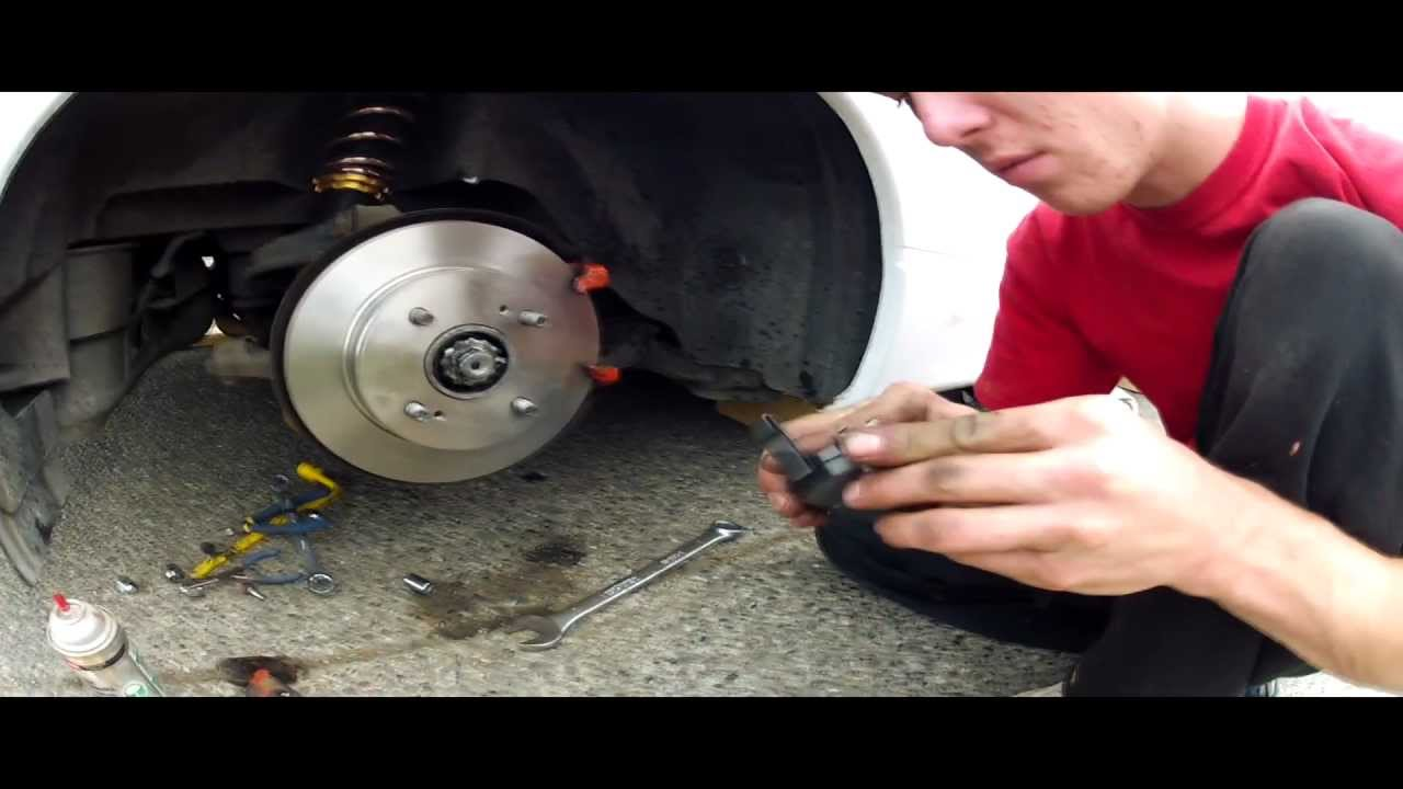 Nissan 240sx S13 Rear Brake Change Youtube