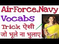 Important vocabs for Airforce and Navy thumbnail
