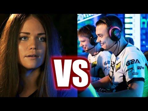 ПАРНИ vs ДЕВУШКИ В CS:GO
