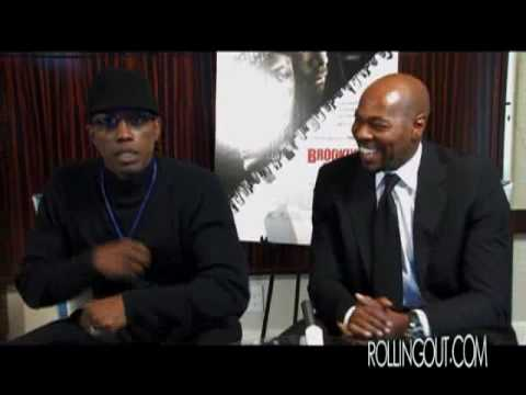 WESLEY SNIPES & ANTOINE FUQUA DISCUSS BROOKLYN'S FINEST